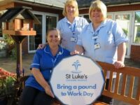 St Luke's Hospice Cheshire launches 'Bring £1 to Work Day'