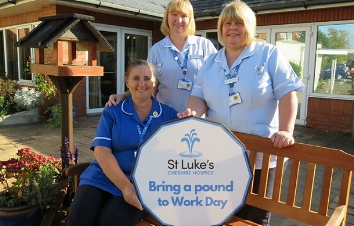 pound to work day st lukes hospice