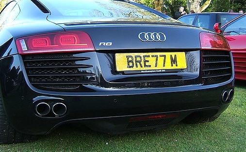 private reg plate - pic under licence by The Plate Market