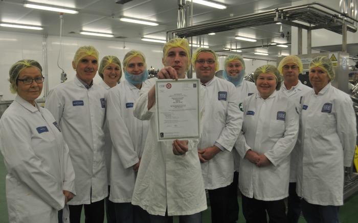 food centre processing halls team reaseheath college
