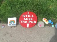 "Mystery over Stapeley Happy Trail ""pub"" stone thefts"