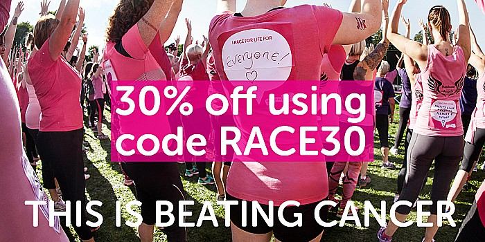 race for Life Pretty Muddy event at Reaseheath