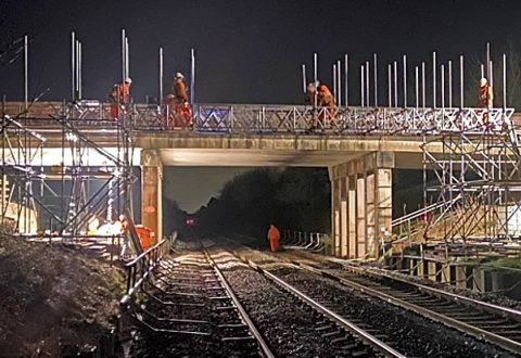 Major rail bridge works to close busy A530 for four months