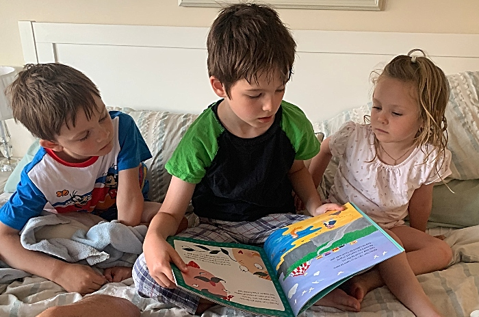 reading challenge in aid of Chester Zoo