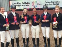 Nantwich students riding high after winning college equine contest
