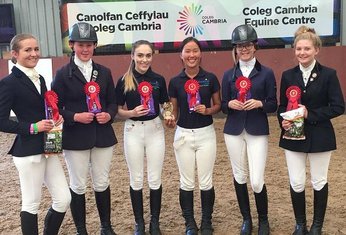 reaseheath college equine 2017 team