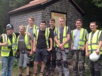 Nantwich students renovate rundown canal building for college exam