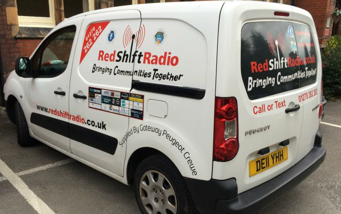 redshift radio van