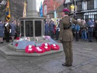 Remembrance Sunday Service in Nantwich