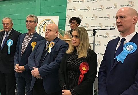 GENERAL ELECTION: Crewe & Nantwich, Kieran Mullan win for Conservatives