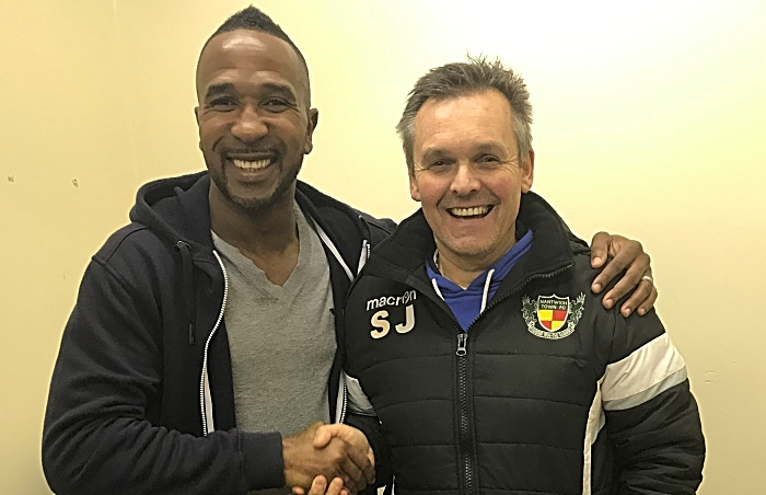 ricardo fuller signs for nantwich town