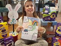 Richmond Village collects 156 Easter eggs for Leighton Hospital children's ward