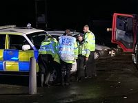 Man rescued from water after River Weaver bursts banks in Nantwich