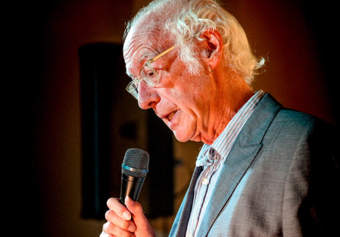 roger mcgough poet at words and music festival