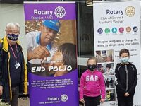 Wistaston youngsters help Rotary mark World Polio Day