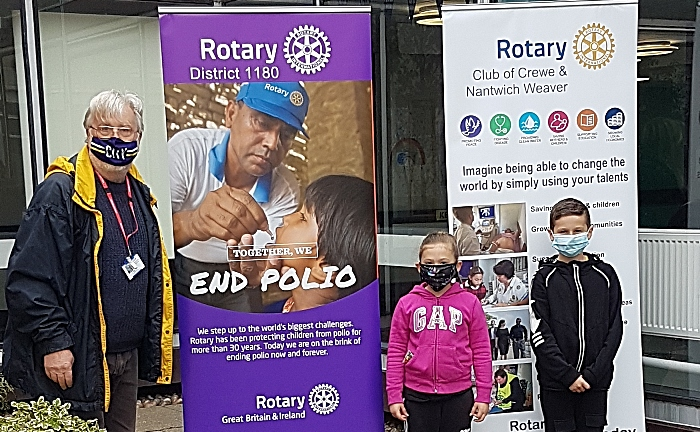 rotary and world polio day