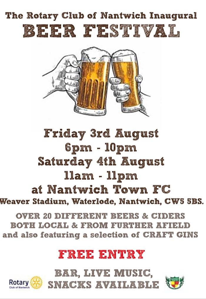 rotary beer festival poster
