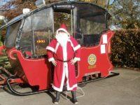 Nantwich Rotary Santa sleigh schedule unveiled