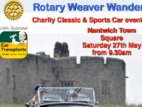 Rotary Weaver Wander rally to take place on May 27