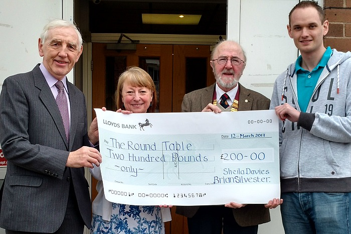 round table donation from willaston event