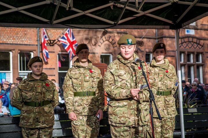 Armistice centenary in Nantwich 1