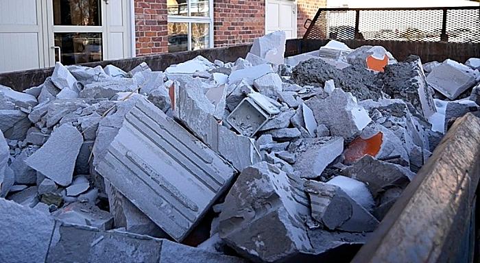 rubble waste - pic by Santeri Viinamäki
