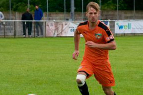 ryan jackson, new Nantwich Town signing