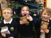 Nantwich pupils given 100 free tickets for Santa's Rusty Robot