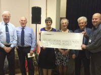 Sequence dancers raise £1,000 for St Luke's Hospice