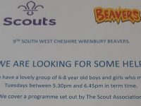 Wrenbury scout group's appeal for help to prevent closure