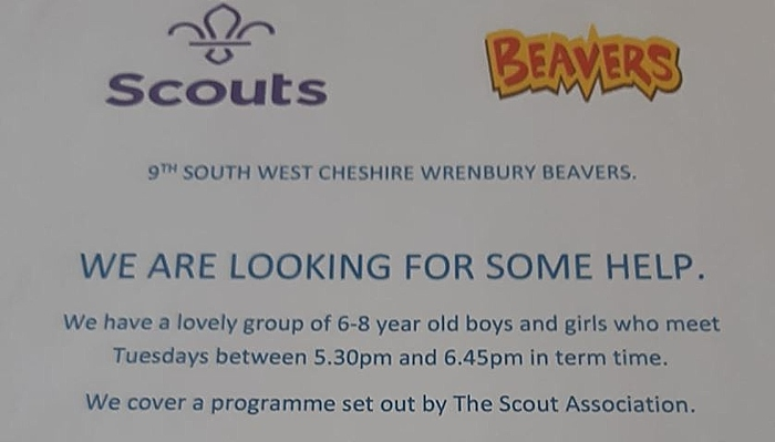 scouts beavers wrenbury