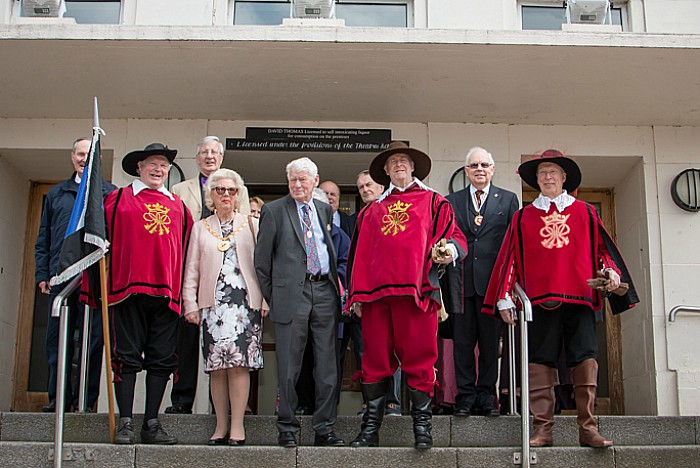 sealed knot plaque ceremony 1