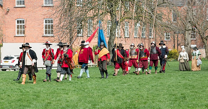 sealed knot plaque ceremony 2