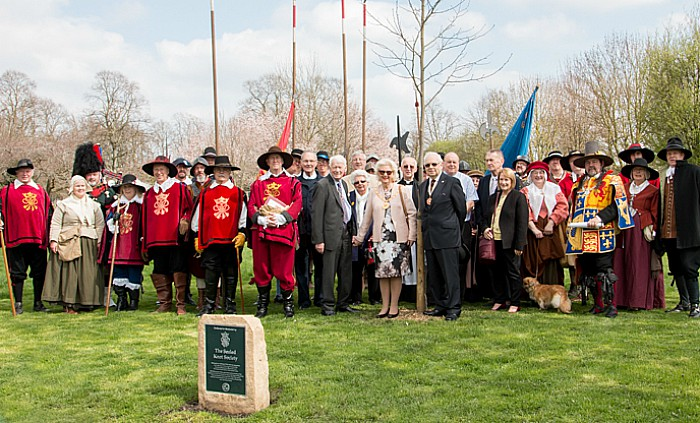 sealed knot plaque ceremony 5