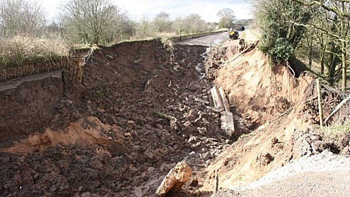 shropshire union canal damage