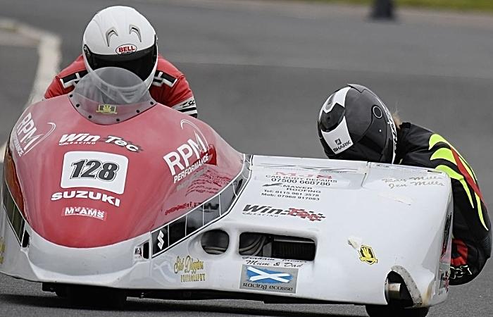 sidecar racing championships - Amy Dodd