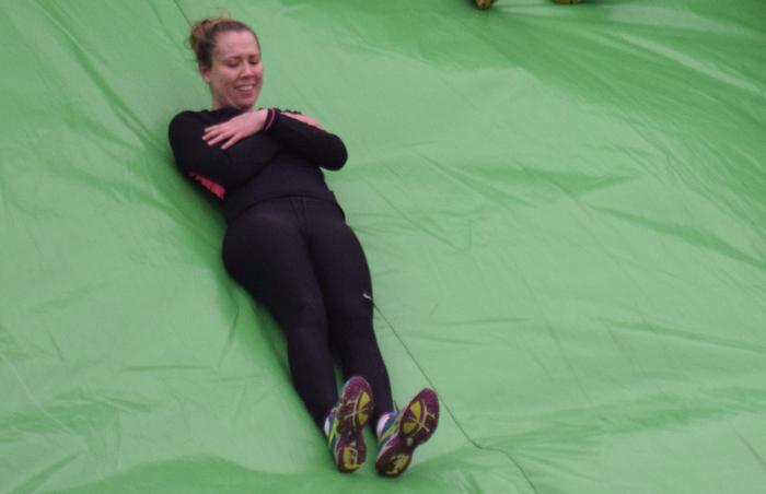 slide down kapow inflatable