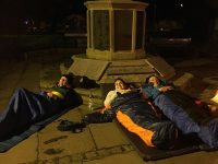 Big Sleep Out in Nantwich hailed big success as more than £3,000 raised