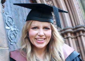speaker Ellie - graduation