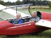 Nantwich Rotarians in fund-raising glider challenge