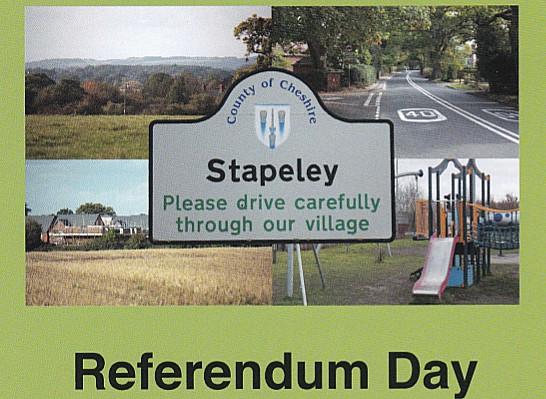 stapeley referendum, neighbourhood plan