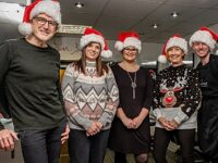 Nantwich hairdresser helps spread Christmas cheer to water charity