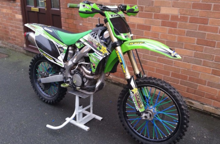 stolen motorbike chorley nantwich
