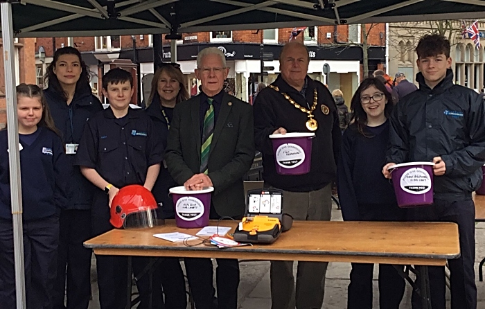 street collection for mayor charities