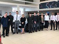 Swansway Jaguar Crewe scoops national awards