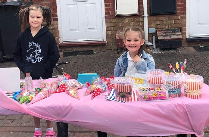 sweet stall in stapeley