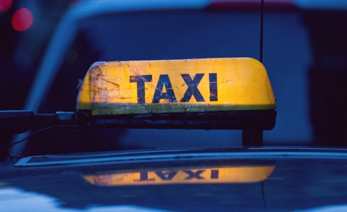 taxi sign, pic creative commons by Brad Hammonds
