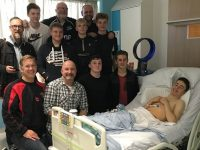 Crewe & Nantwich rugby players support team-mate with life-threatening illness