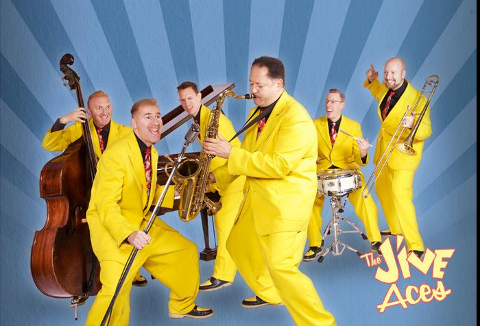 the jive aces Nantwich jazz festival