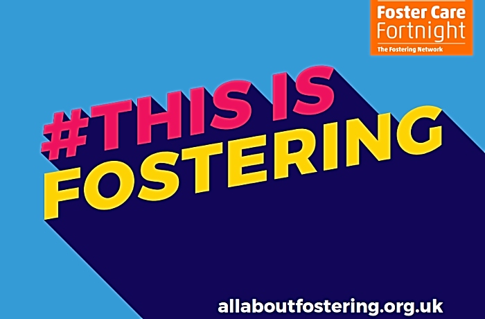 this is fostering poster - foster